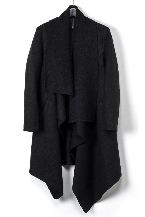 Unbalanced Long Coat SE