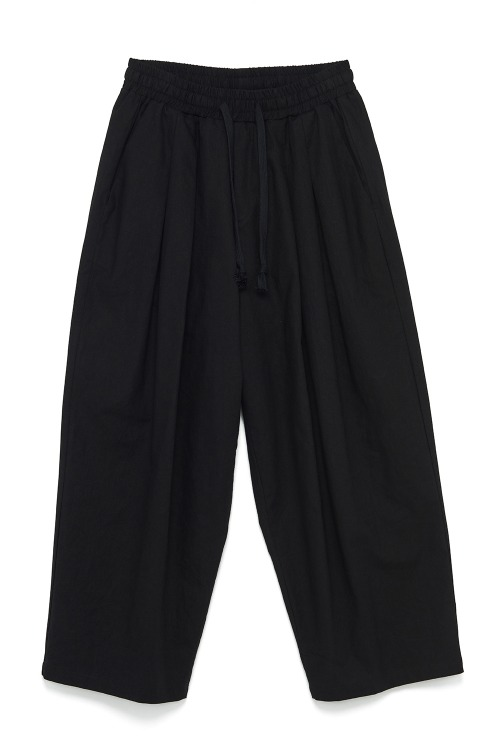 Linen Wide Leg Cropped Pants