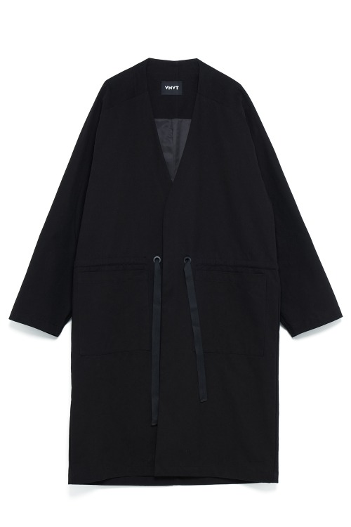 V-Neck Long Coat