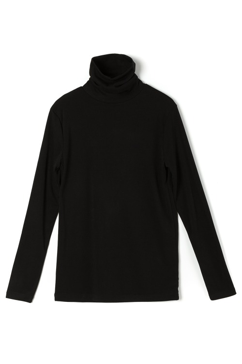 New Basic Turtle Neck T-shirt
